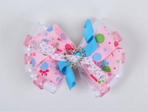 Kızlarınız için kristal kalpli tokalar tasarladık