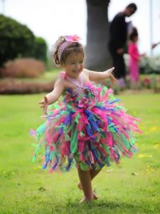 Tütü Elbiseler Rengarenk Tütü Elbise