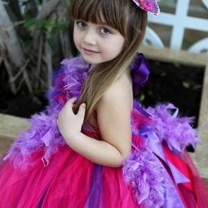 Fuşya Tütü Elbise Modelleri